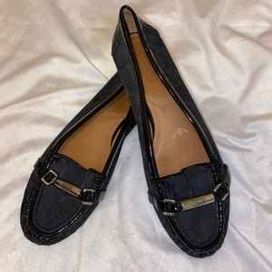 "Coach ""Berdina"" Signature Loafers"